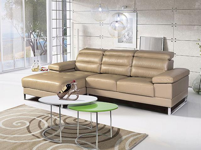 Sofa da giá rẻ SF63