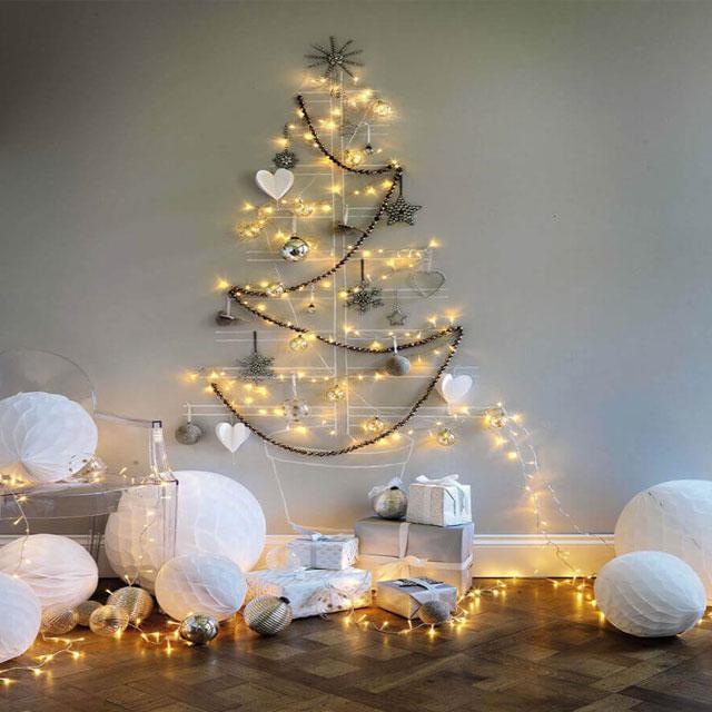 Cách làm cây thông Noel bằng dây kim tuyến