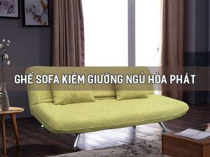 ghế sofa kiêm giường ngủ hòa phát