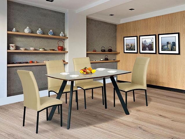 kích thước bàn ăn 4 người B50-G50