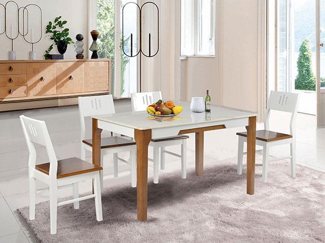 kích thước bàn ăn 4 người HGB67B-HGG67