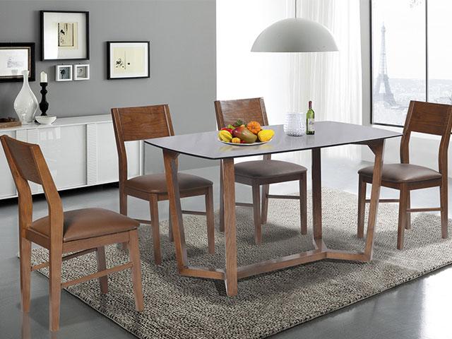 kích thước bàn ăn 4 người HGB69B-HGG69