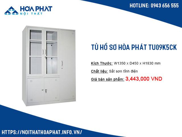 Tủ treo quần áo văn phòng TU09K5CK