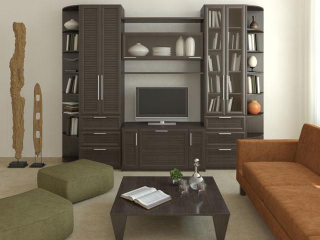 tủ gỗ phòng khách