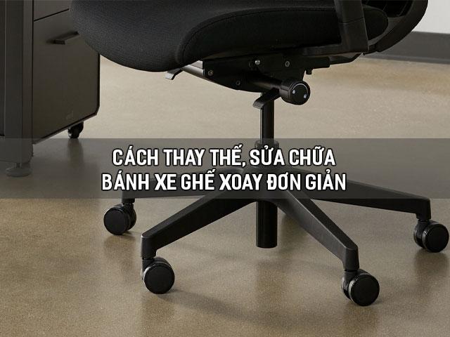 bánh xe ghế xoay