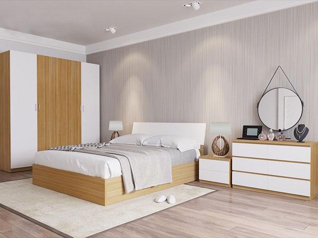 bộ giường ngủ giá rẻ 301
