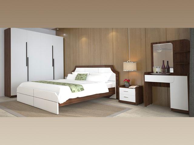 bộ giường ngủ giá rẻ 305