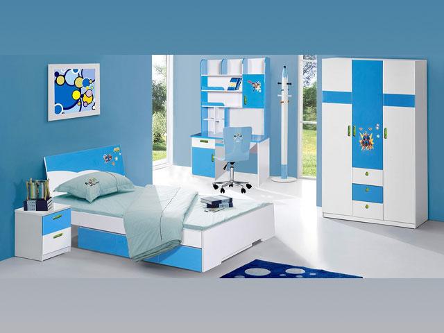 bộ giường ngủ giá rẻ trẻ em 01