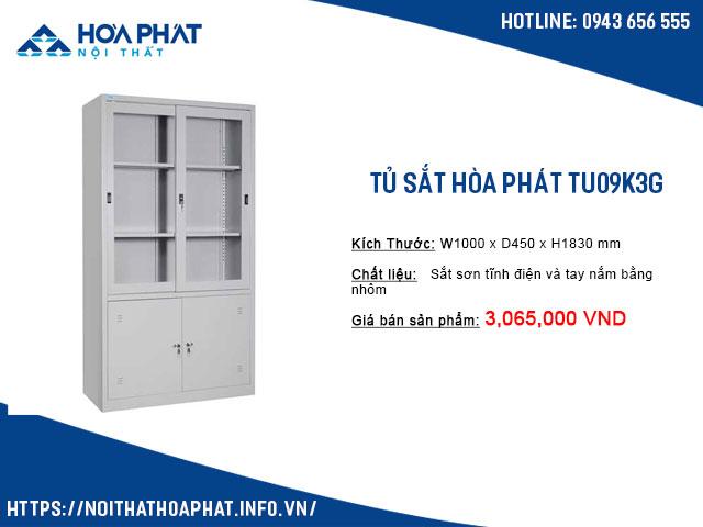 tủ hòa phát TU09K3G