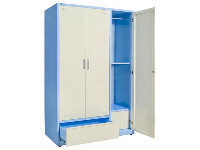 tủ quần áo sắt sơn tĩnh điện TU15B2C3