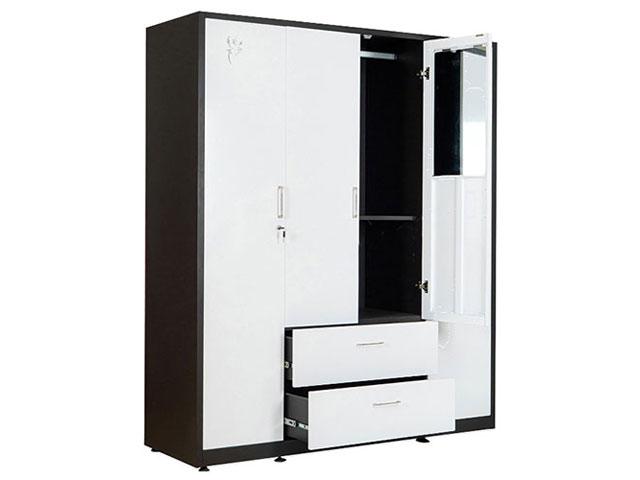 tủ quần áo sắt sơn tĩnh điện TU20B3C4