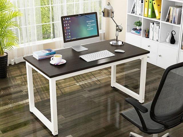 bàn làm việc gỗ chân sắt
