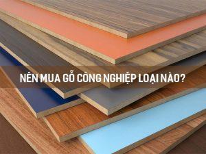 Nên dùng gỗ công nghiệp loại nào