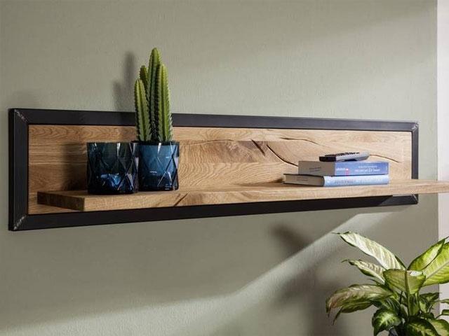 giá sách treo tường bằng gỗ