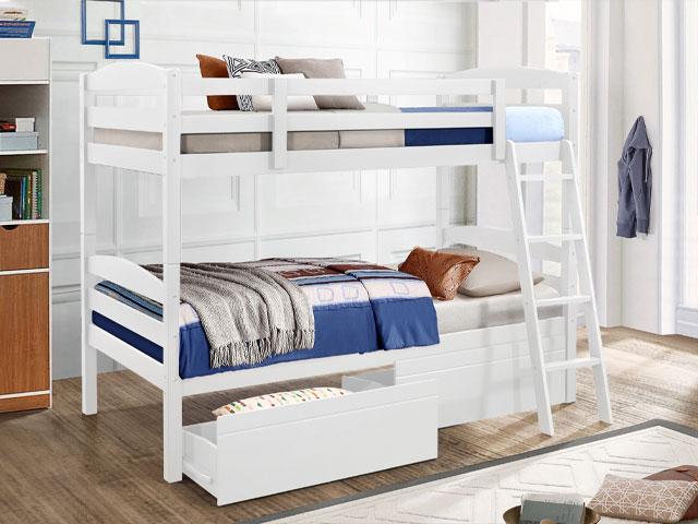 giường 2 tầng có ngăn kéo