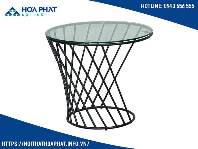 bàn kính sofa giá rẻ hòa phát BSF411