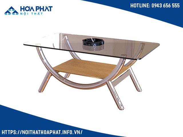 bàn kính sofa giá rẻ hòa phát BSF81