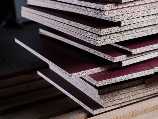 Các loại gỗ công nghiệp Melamine Faced Chipboard