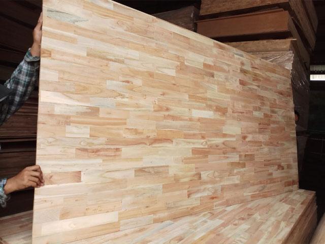 Các loại gỗ công nghiệp gỗ ghép thanh