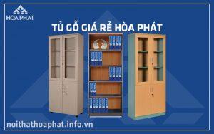 Tủ gỗ giá rẻ Hòa Phát