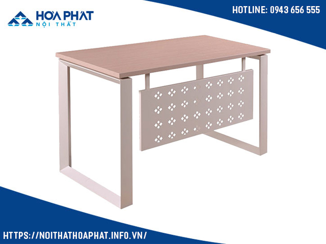 Bàn ghế chân sắt mặt gỗ HR140SC5