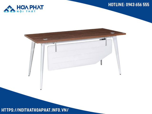 Bàn ghế chân sắt mặt gỗ LUX160C10