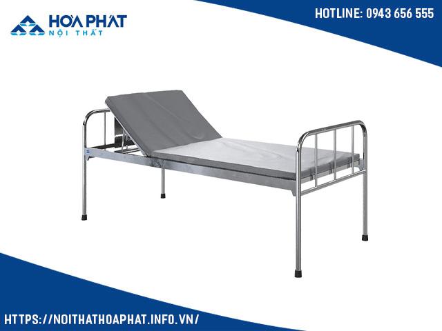 giường y tế Inox nâng đầu GYT01