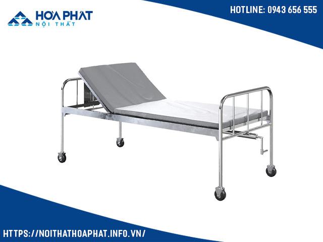 giường y tế Inox nâng đầu GYT02