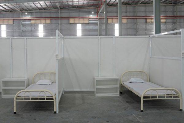 giường sắt bệnh viên dã chiến GSDC01